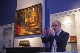 Palmslag-uitgever Maurice van Dijk